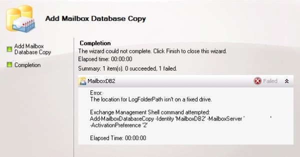 Databasecopy