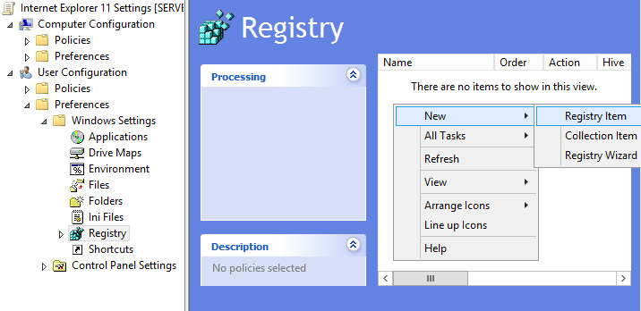disable changing proxy settings registry key windows 7