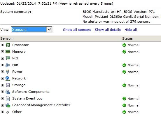VMware ESXi showing Faulty Memory On HP Server under Hardware Status -