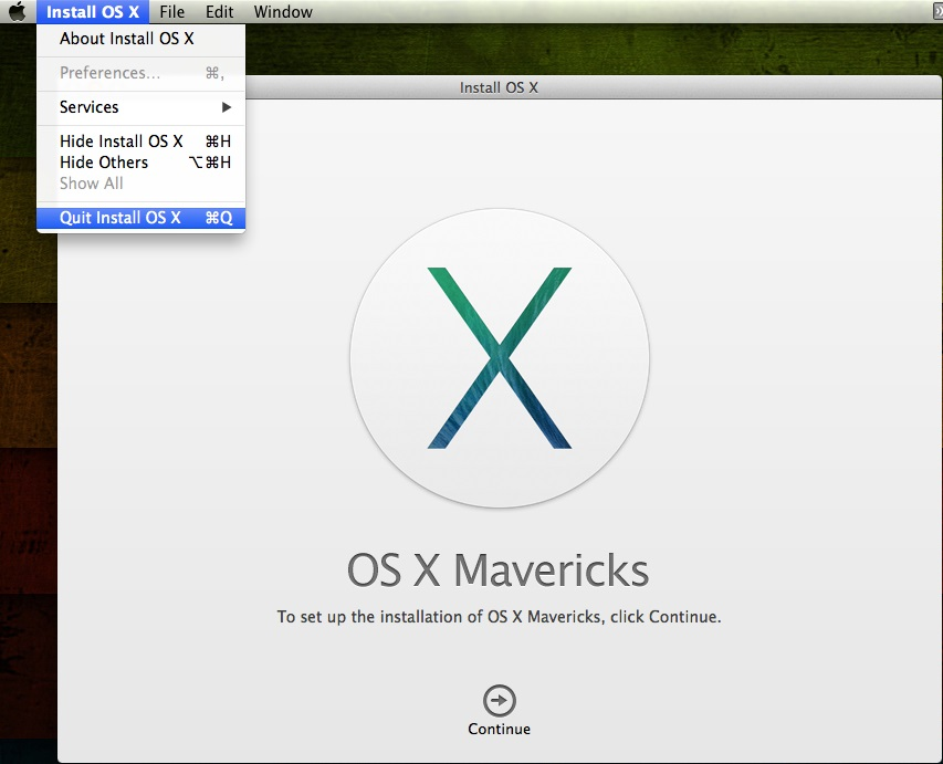 how to make osx installer usb